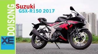 Đánh giá sportbike Suzuki GSX-R150 2017 giá 74,9 triệu đồng   Xedoisong.vn