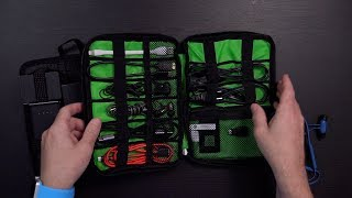 Organizing Your Backpack with Cocoon GRID-IT! vs BAGSMART Organizer