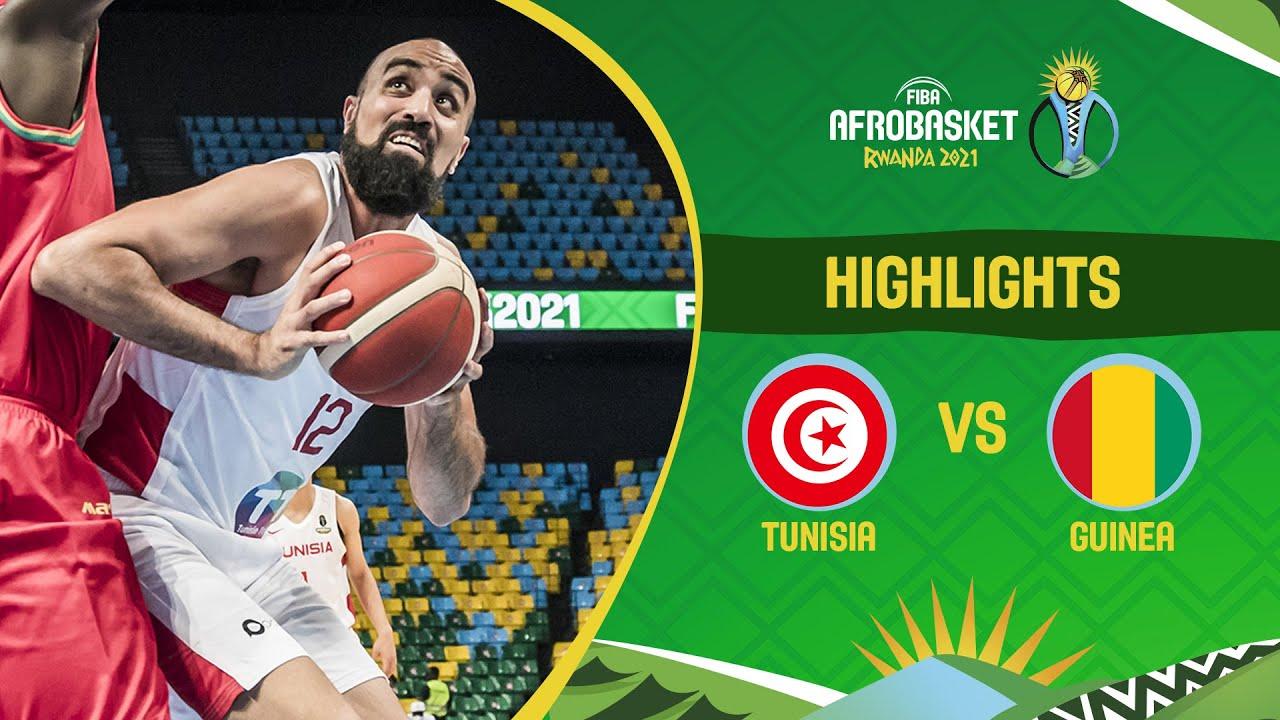 Tunisia - Guinea | Game Highlights - FIBA AfroBasket 2021