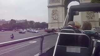 traffic chaos in paris