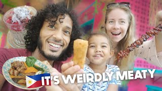 Eating ONLY FILIPINO FOOD For 24 HOURS! BRITISH Family SIARGAO