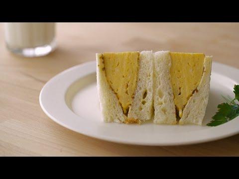 몽글몽글 부들부들 계란샌드위치 : Egg omelet sandwich | Honeykki 꿀키