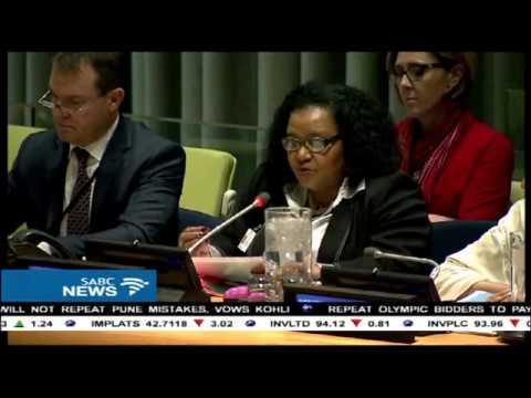 Minister Edna Molewa has addressed UN on World Wildlife Day