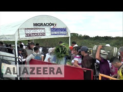 Thousands flee to Colombia ahead of Venezuela strike, vote