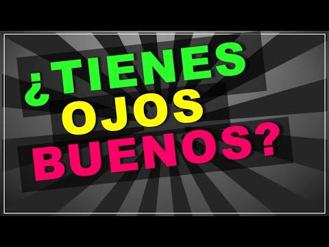 Se Honesto: ¿Tienes Ojos Buenos? (test con respuestas!)