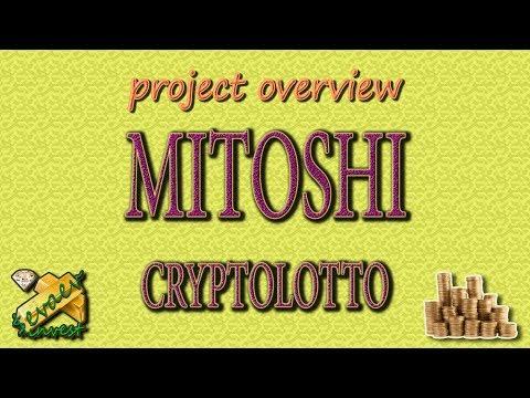 MITOSHI CRYPTOLOTTO / Overview Of The Company