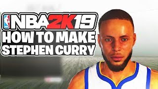 How To Make Your MyPlayer EXACTLY Like Stephen Curry | Stephen Curry Face Creation & Build