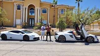 FINALLY LAMBORGHINI HURACAN AND MOVING TO VEGAS BUYING THE OLD SO COOL LAND MANSION