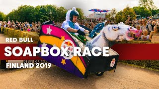 Creativity Reaches New Limits At Red Bull Soapbox Race Finland 2019