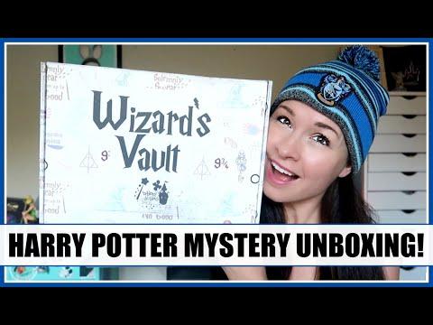 BIBBIDI BOBBIDI BOXES - Wizard's Vault Harry Potter Unboxing! September 2019