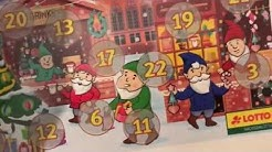 Wir rubbeln an unserem Rubbelkalender 2018 Teil 1 Frohe Weihnachten :)