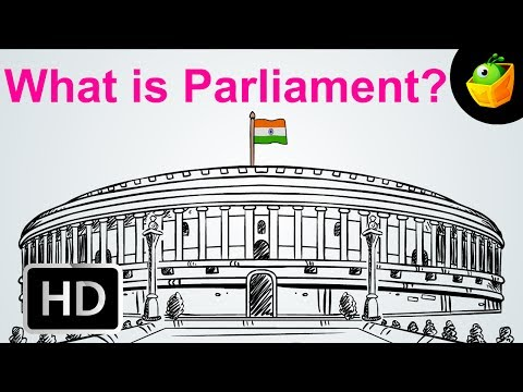 What Is Parliament - Election 2014 - Cartoon/Animated Video For Kids