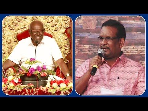 Mr Arul Prakash's Speech | Proff Solomon papaiya pattimandram | Kalyanamalai Bhilai Episode 800
