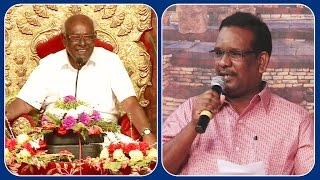 Mr Arul Prakash's Speech | Proff Solomon papaiya pattimandram | Kalyanamalai Bhilai Episode 800