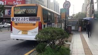 2019.10 경기도 고양시 화정역3,4번출구 버스환승…
