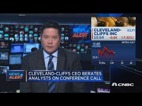 'Messing with the wrong guy': Cleveland Cliffs CEO berates analysts on earnings call