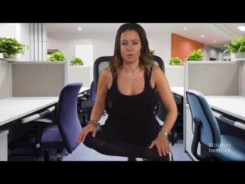 Thumbnail: 3 quick desk exercises to reduce the stress of sitting all day