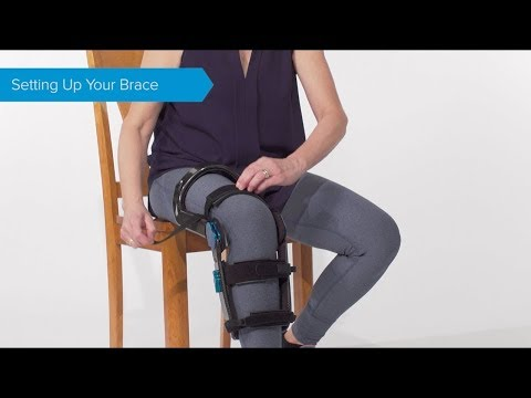 Guide to Putting on Your Levitation Knee Brace