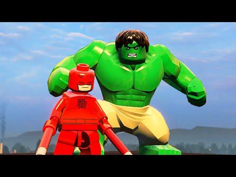 СВОБОДНАЯ ИГРА в LEGO Marvels Avengers - Часть 2
