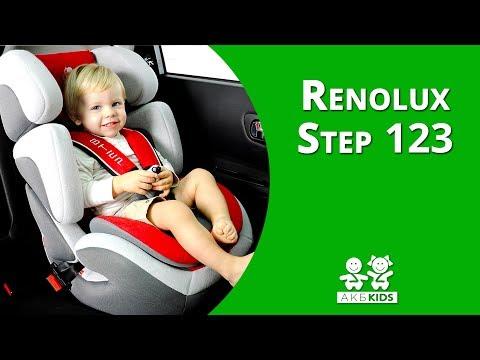 Установка автокресло Renolux Step 123 (группа1-2-3)