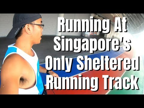 Where To Run In Singapore | Only Sheltered Running Track | Singapore Sports Hub