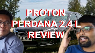 Proton Perdana 2.4 L Review: This or a Used Accord?