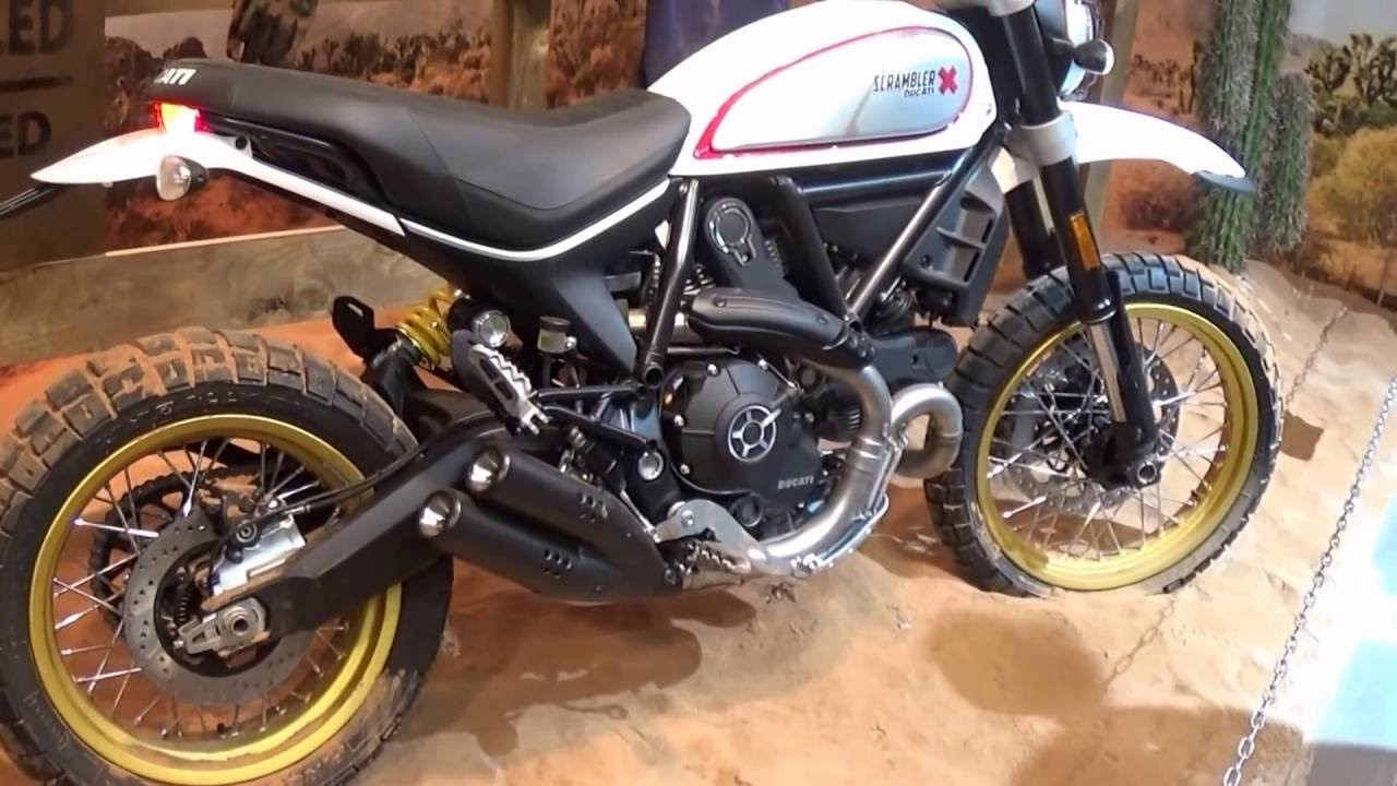 eicma 2016 ducati scrambler desert sled youtube. Black Bedroom Furniture Sets. Home Design Ideas