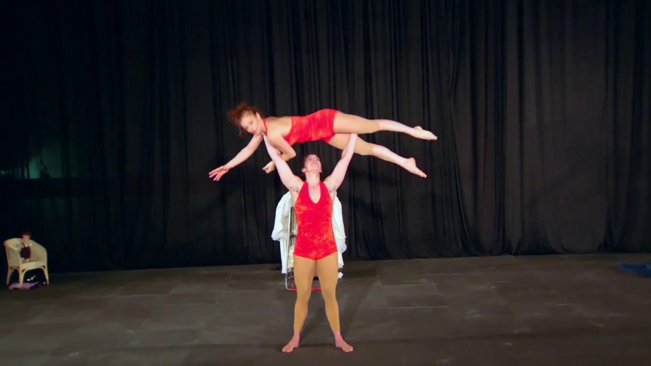 Rachel Rees Acrobatic Demo 2019
