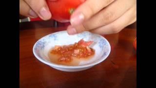 Tomato facial scrub Thumbnail