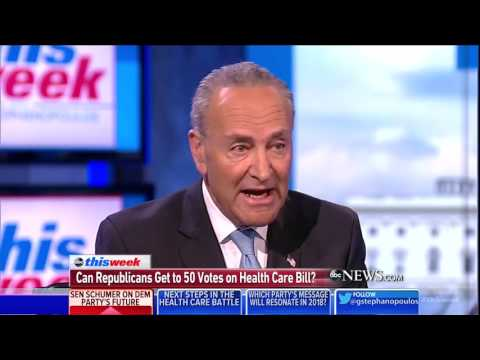 Schumer: Democrats have been too namby-pamby, single-payer health care is on the table