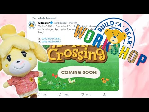 Build-A-Bear teams up with Nintendo for 'Animal Crossing: New ...