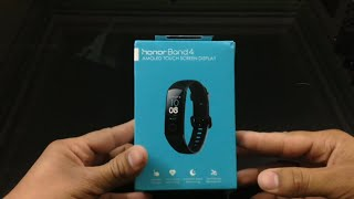 Honor Band 4 Unboxing And Review In Hindi | Fitness Band With Coloured Display | The Tech Tv