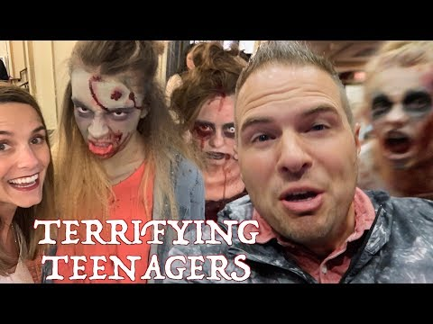 😱 GROWN MAN REPEATEDLY SCARED BY TEENAGE GIRL ZOMBIES   TERRORIZED BY TEENAGERS 🧟♀️