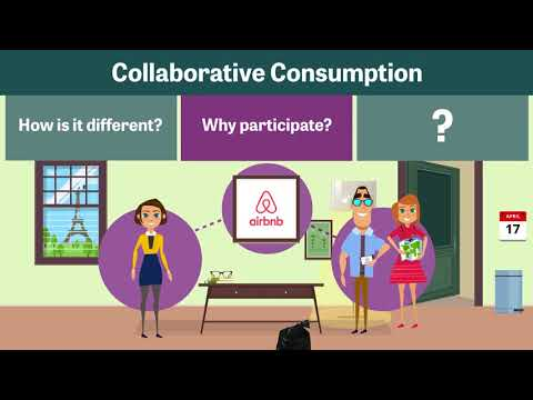 Collaborative consumption or the sharing economy explained in 4 minutes!