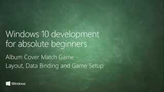UWP 065   Album Cover Match Game: Layout, Data Binding and Game Setup