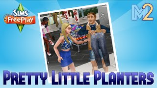 Sims FreePlay - Glitz and Glam 1 - Pretty Little Planters Quest (Tutorial & Walkthrough)