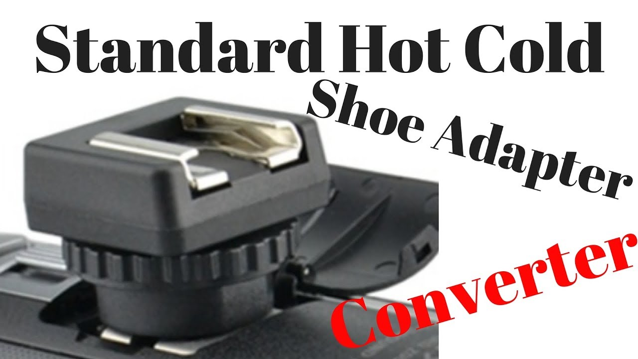 f0de8c004df7 Standard Hot Cold Shoe Adapter Converter for Sony handycam - YouTube