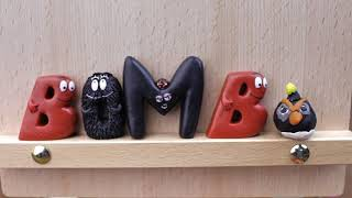 Angry Birds Meet Barbapapa ABC Alphabet