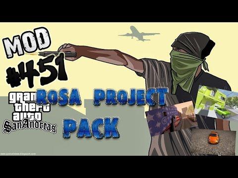 Обзор Модов GTA San Andreas #451 - RoSA Project Pack