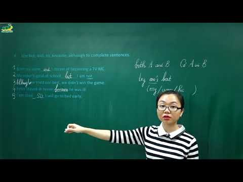 Tiếng Anh lớp 6 – Unit 7 Television Lesson 3 A close look 2|Liên từ and, but, so, because, although