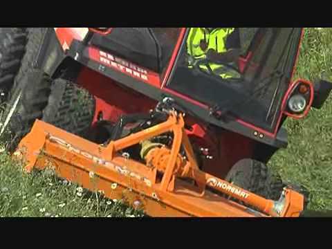 Reform portes outils et tracteurs de pente youtube - Tondeuse autoportee pour forte pente ...