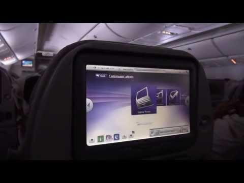 Emirates Inflight Entertainment / Boardunterhaltung ICE - Boeing 777-200 - Dubai-Hamburg - 2013