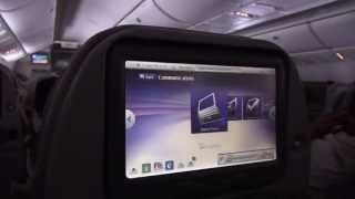 Emirates Inflight Entertainment / Boardunterhaltung ICE - Boeing 777-200 - Dubai-Hamburg - 2013