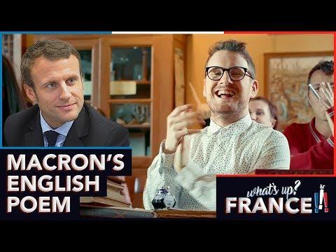What's Up France - #9 - Macron's english poem