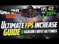 - 🔧 COD: WARZONE 2.0 Dramatically increase performance / FPS with any setup! / Best Settings! 🆕🖱️🎮✔️
