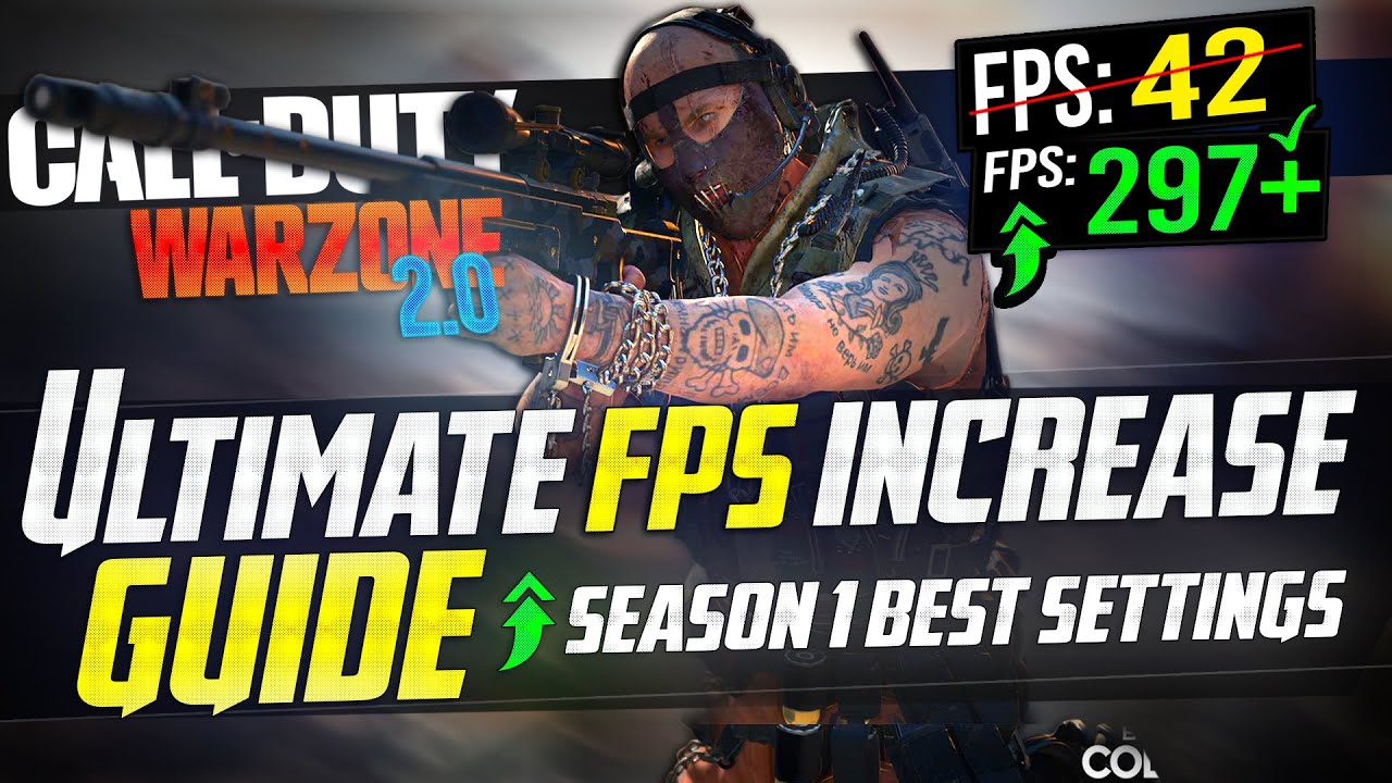 Cod Warzone 2 0 Dramatically Increase Performance Fps With Any Setup Best Settings Youtube