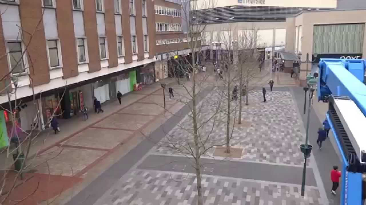 Greenford Ltd - Marlowes Pedestrianised Shopping Area, Hemel Hempstead