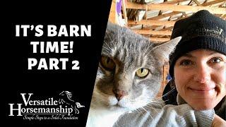 🔴 IT'S BARN TIME! | Part 2 // Versatile Horsemanship