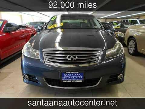 2008 Infiniti M35 Used Cars Santa Ana California 2017 12 30