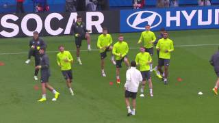 Germany training at Parc des Princes - 20.06